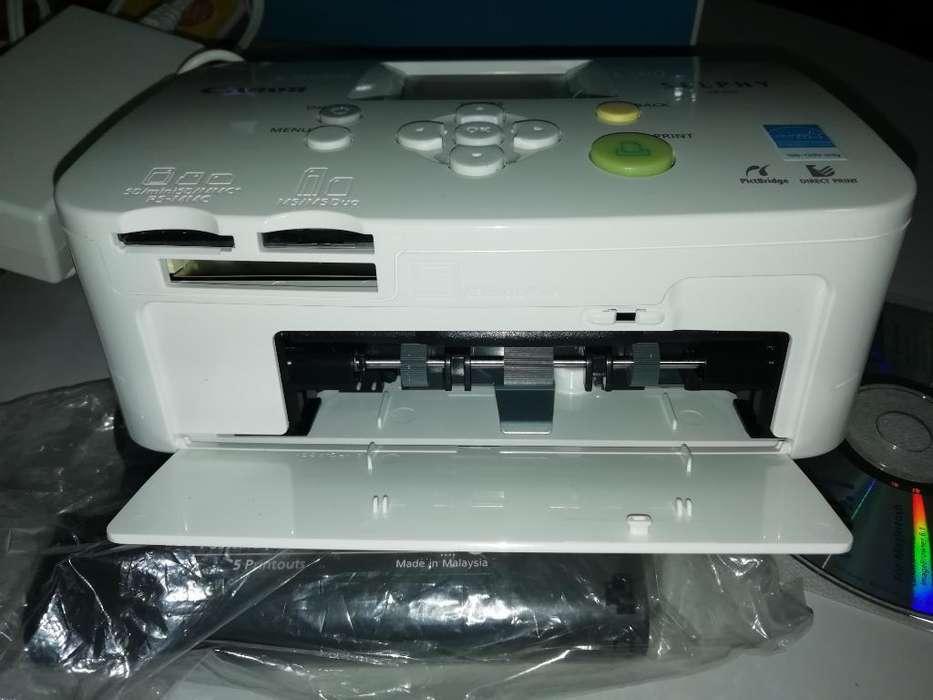 Impresora Canon Fotografia