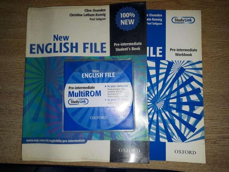 Libro Inglés New English File Pre Intermediate Students Book