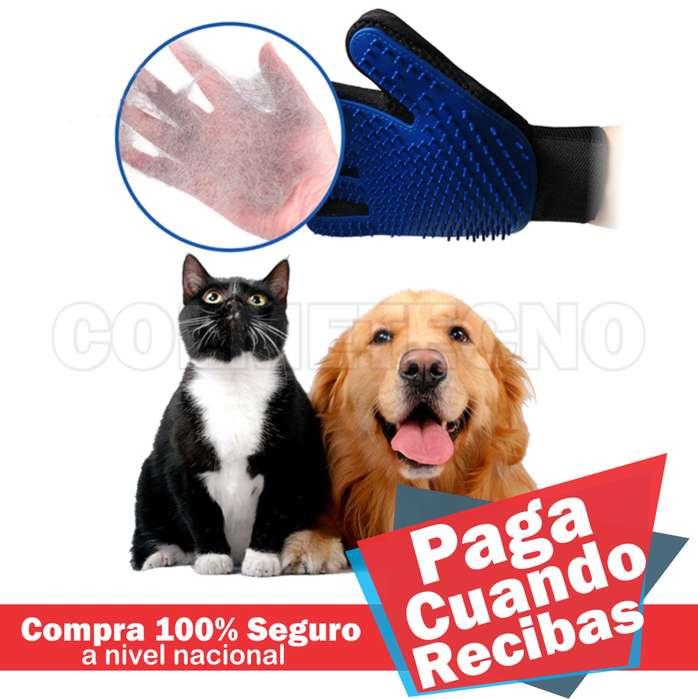 Cepillo Quita pelo Guante para mascota