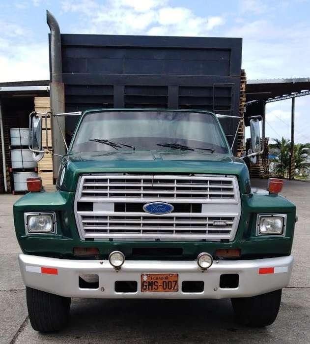 CAMION FORD B700 1990 TODO ORIGINAL, SIN ADAPTACIONES