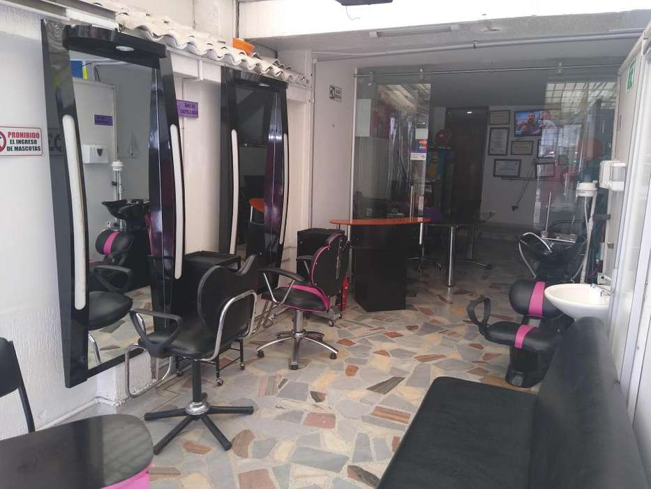 Vendo Muebles Sala de Belleza Completa - para trasladar