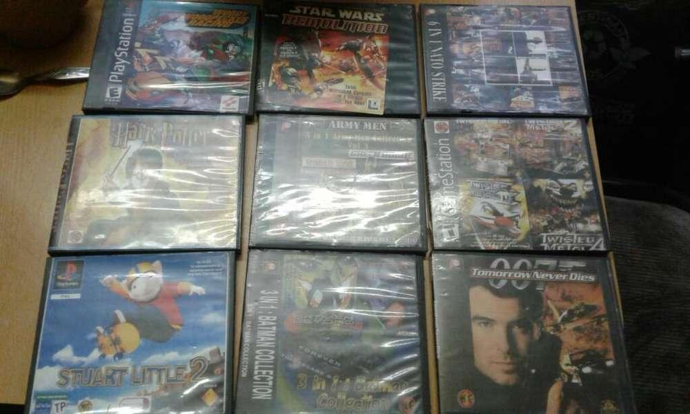 Vendo Lote D Juegos Play1.19.