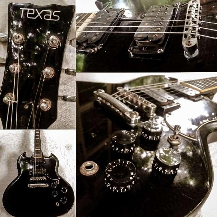 Guitarra Eléctrica Texas Modelo Sg