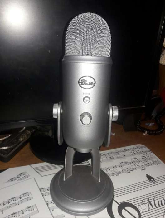 Microfono Blue Yeti (usb)