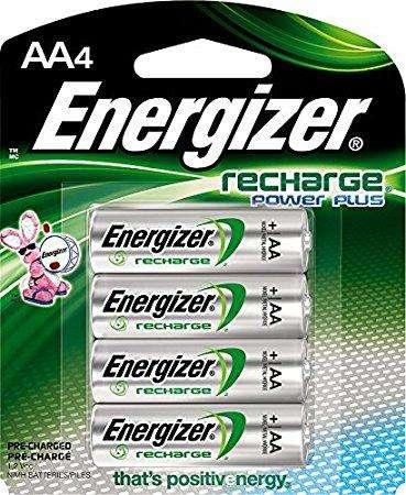 Bateria Energizer Recargable Doble Aa Pack X4 De 2000mah