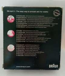 Depiladora Braun Silk•épil 3