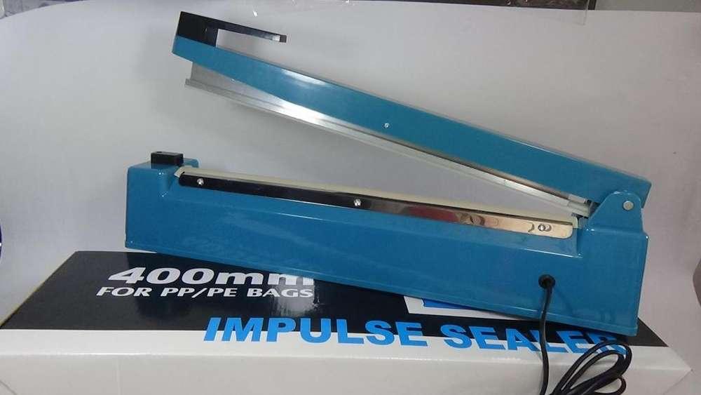 maquina selladora bolsas plasticas 400 mm