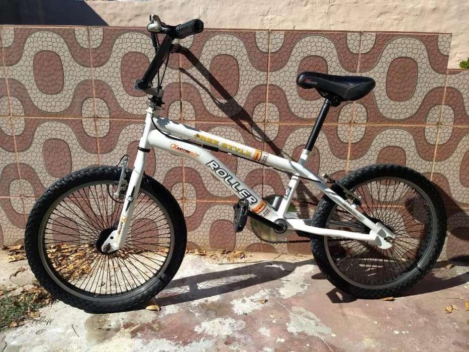 Vendo bicicleta marca roller rodado 20