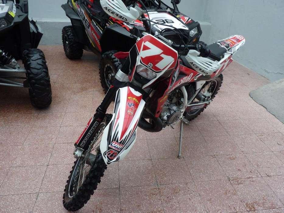 HUSQVARNA WR 250 BLANCO 2011
