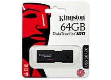 PENDRIVE 64GB KINGSTON DT100G3 USB 2.0 3.0 3.1