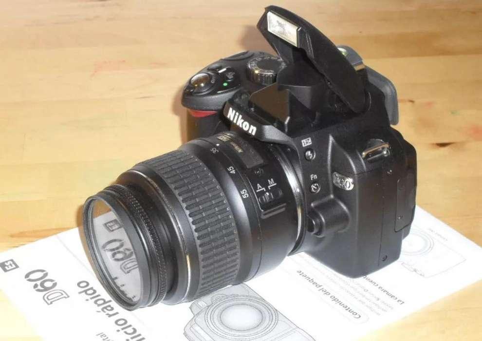 Se Vende Nikon D60