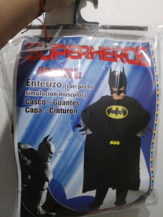 Espectacular Disfraz Batman Talla 6