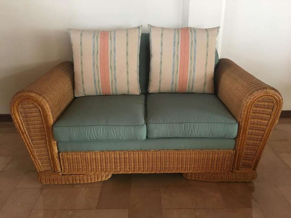 <strong>sofa</strong> de Rattan, Americano