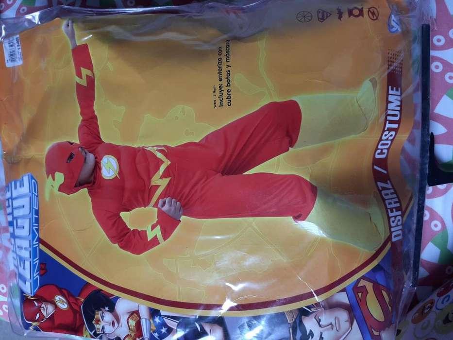 Disfraz Flash talla 6 Original