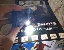 Camara Deportiva Deportes Tipo Gopro 4k Reales Flash Wifi
