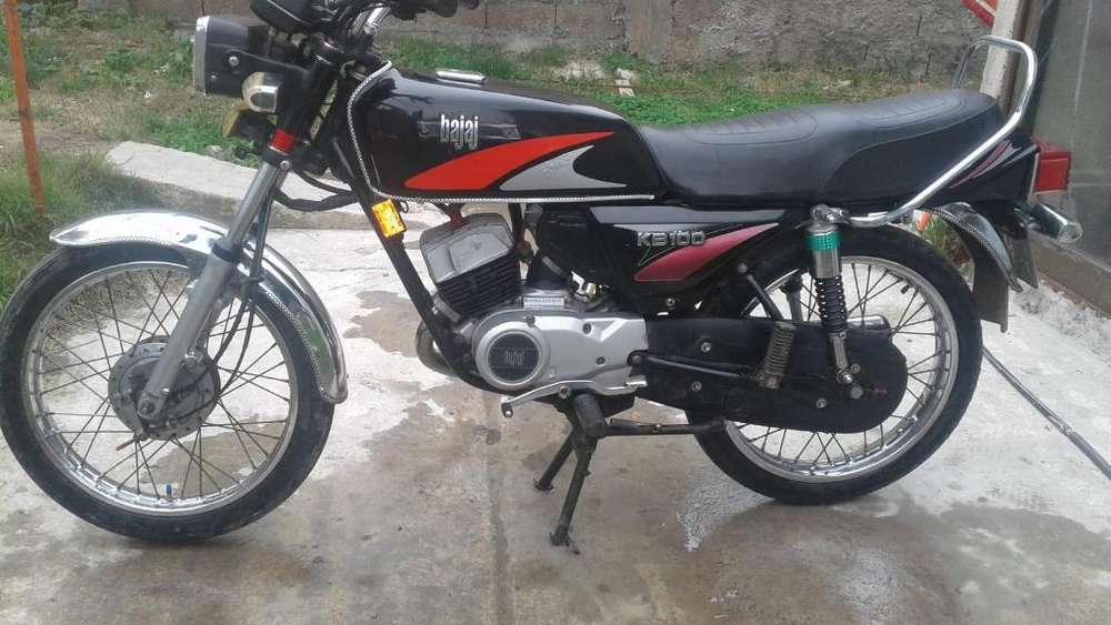 Moto Bajaj Kb100 2t Impecable