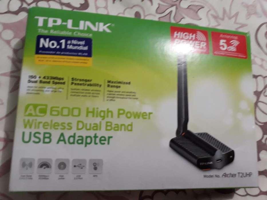 Tp- Link Antena Rompe Muros Poco Uso