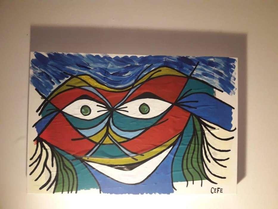Artistica CEFE. Figuras Ceramicas Pinturas En Acrilico. Varios WSP 11-4418-3409