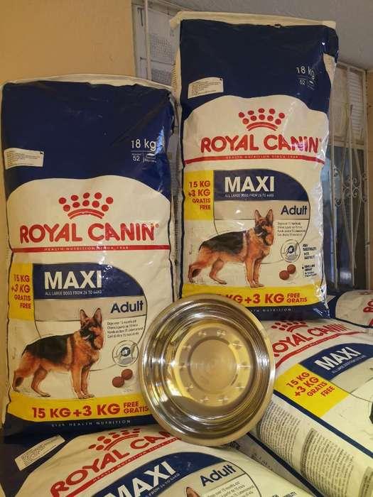 Royal Canin Maxi Adult 15kg3kg