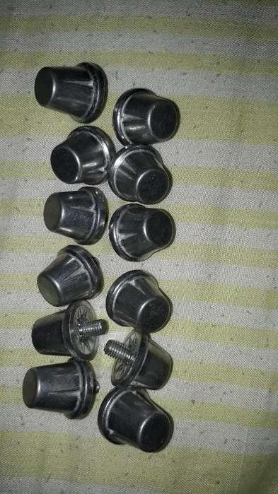 12 Tapones de Aluminio