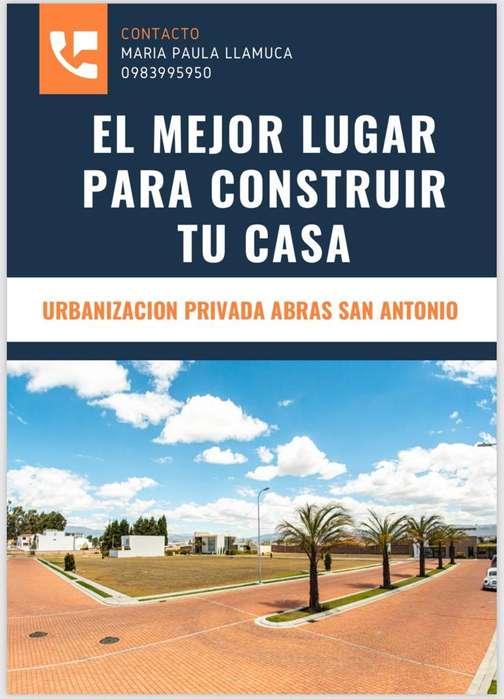 Lote de Terreno en Urbanizacion Riobamba