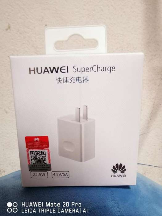 Cargador Huawei Super Carga
