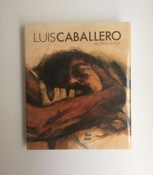 Libro de arte Luis Caballero