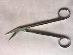 Tijeras Básicas Acodadas, 11,5 cm