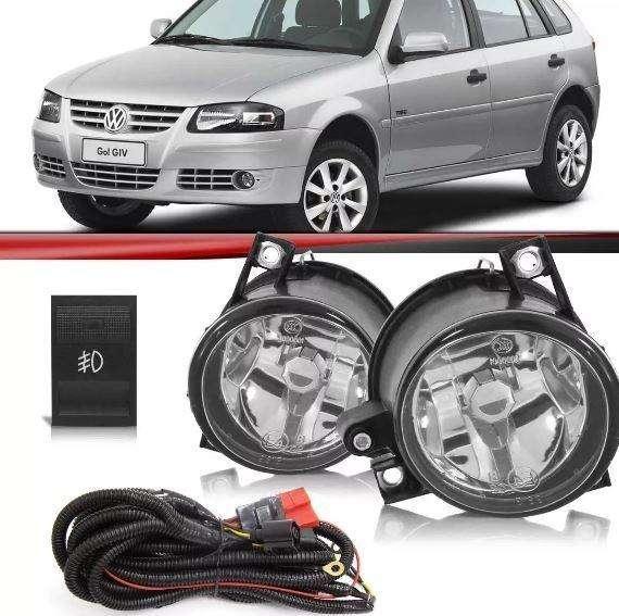 Kit de <strong>faros</strong> auxiliares Rompe niebla Volkswagen Gol Power Fox