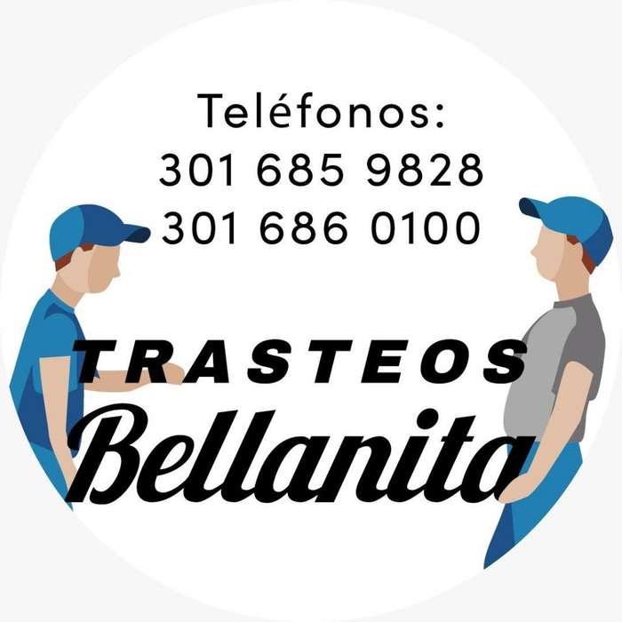 Empresa de mudanzas 3016860100 Trasteos y acarreos con expertos.