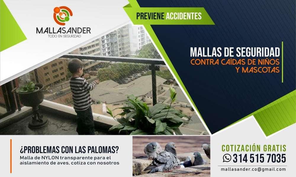 MALLAS DE PROTECCIÓN PARA NIÑOS