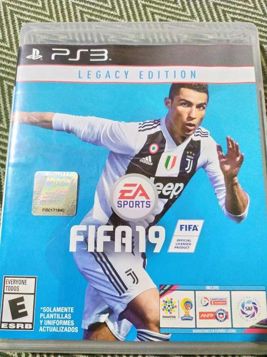 Fifa 19 Ps3 Play 3 Se Subasta Esta Belle