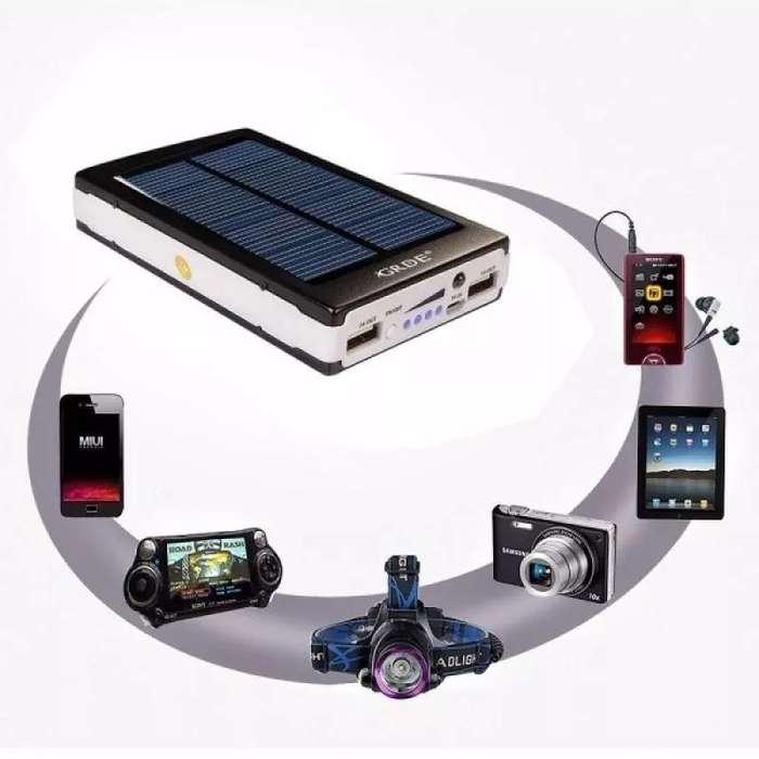 Cargador Bateria Externa Panel Solar Power Bank 13000 Mah