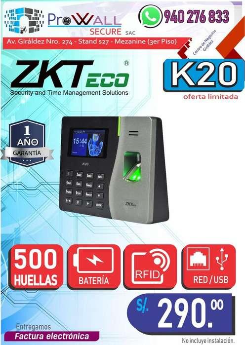 Control de Asistencia ZK-k20