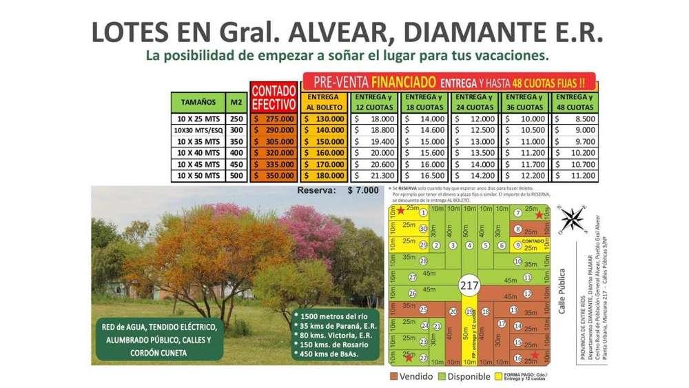 Lotes En Puerto Alvear! Proyecto Manzana 217! 100 - 275.000 - Terreno en Venta