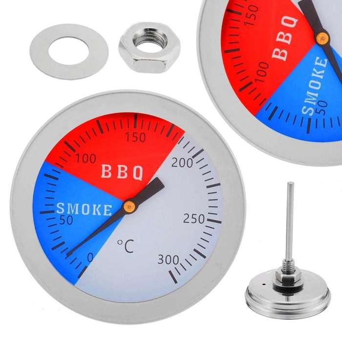 Termometro Acero Inoxidable BBQ Cocina 300G Calibrador