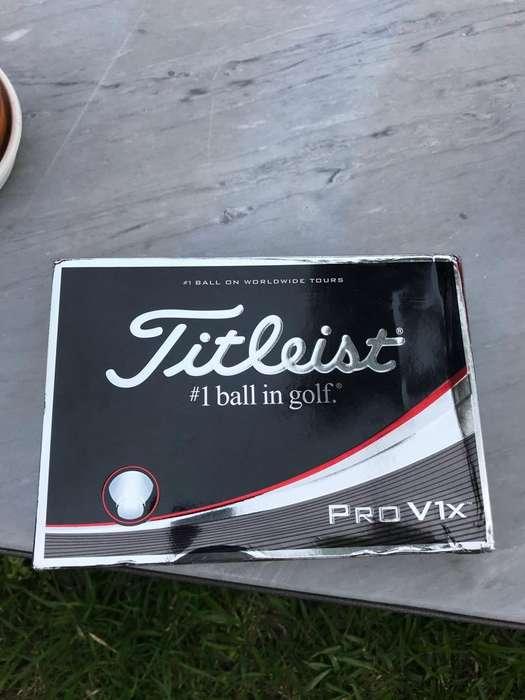Pelotas de Golf Titleist Prov1X Nuevas