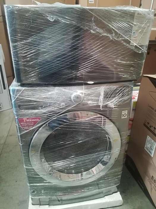 Lavadora secadora minilavadora