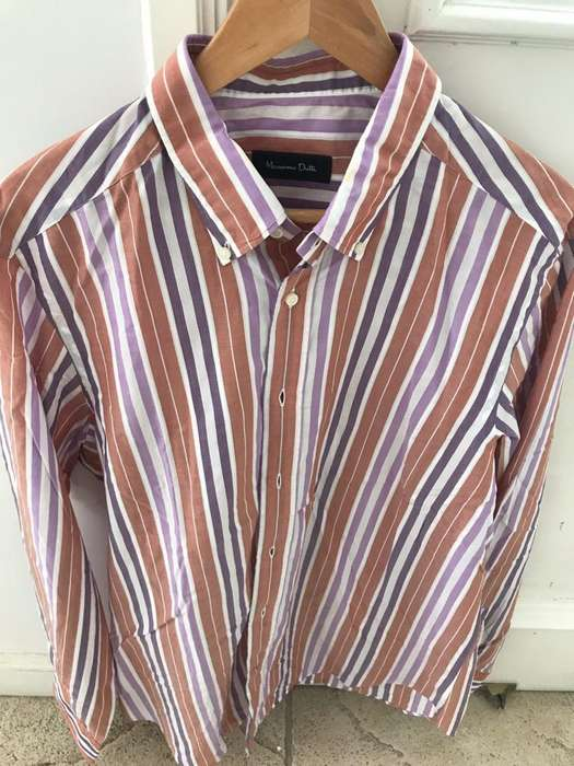 <strong>camisa</strong> Massimo Dutti- Talle Xl