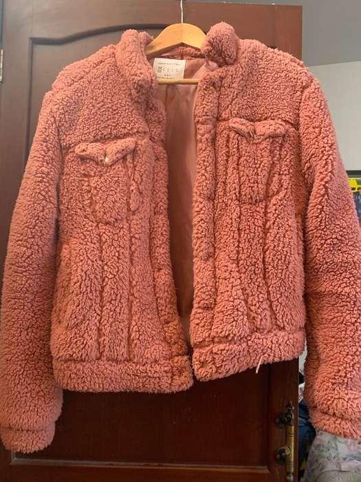 Casaca Peluche Sherpa Urban Outfitters