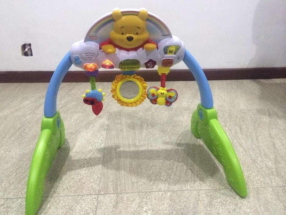 Fisher Price Gimnasio Para Bebes Niño y Niña. Winnie The Pooh.