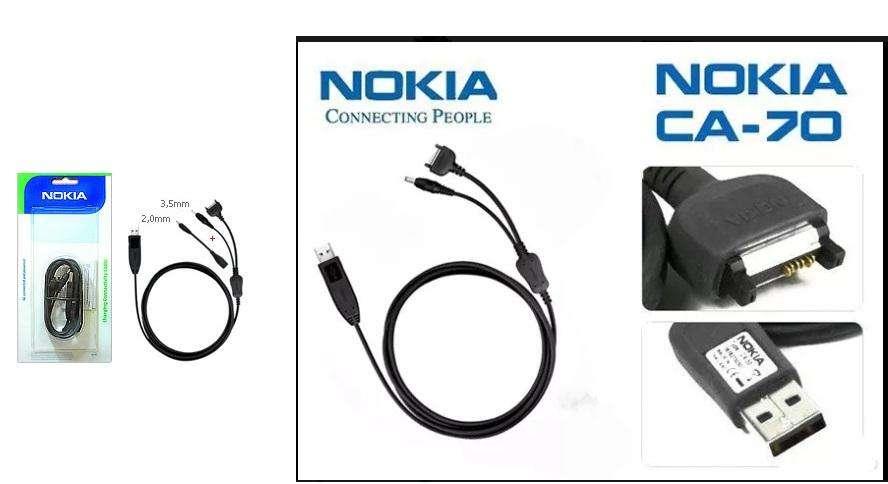 Cable Usb Datos Nokia Ca-70 Ver Listado De Compatibilidad