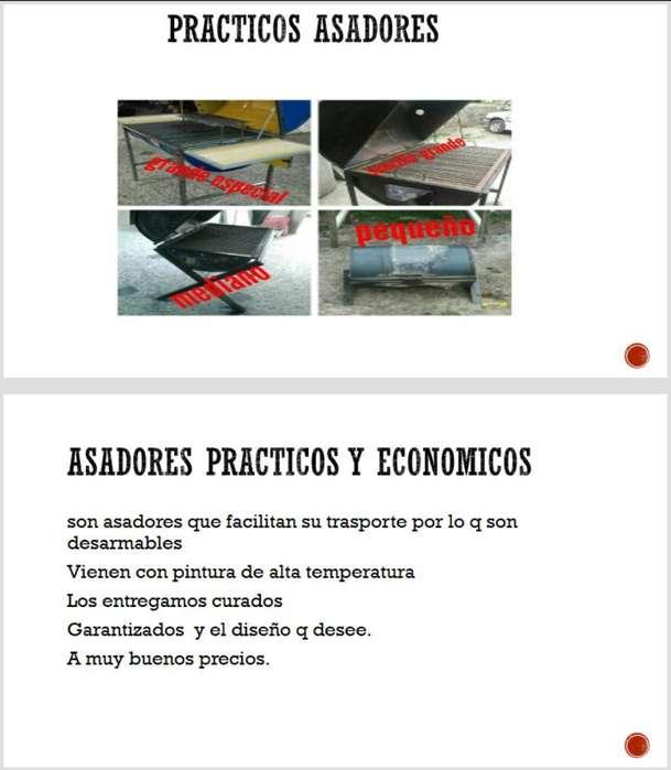 Asadores Practicos Y Economico