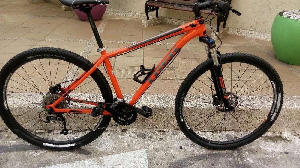 Bicicleta Trek Xcaliber 7 Mtb 2016