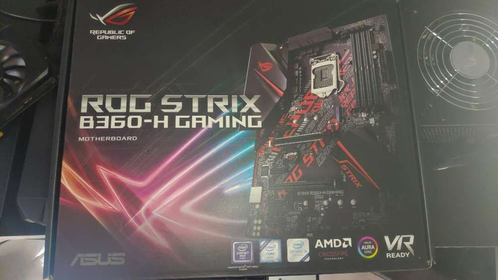 Combo Core I7 8700 Board Asus Gamer