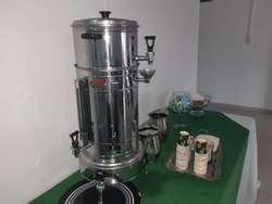 estacion de cafe,aromaticas, insta cream , agua natural