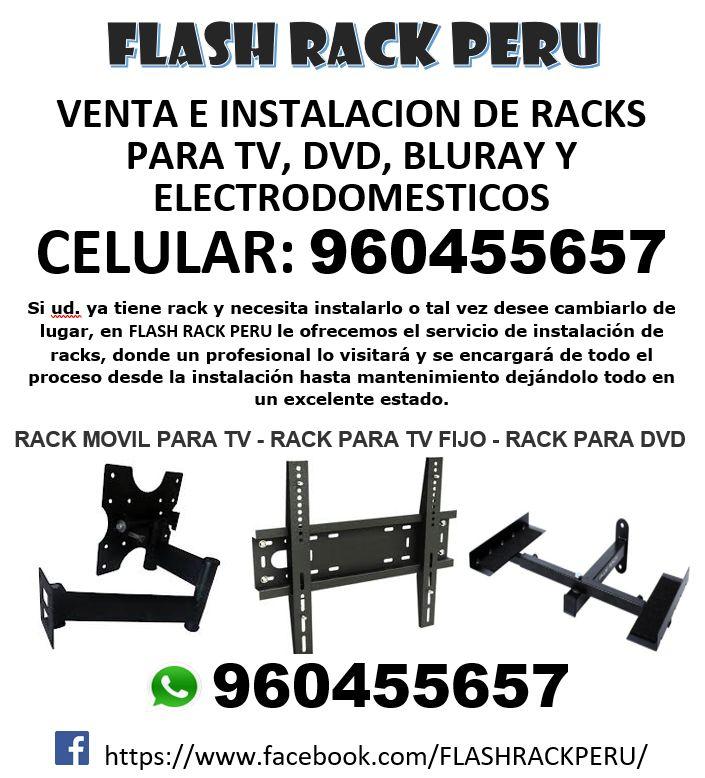 ?? RACKS para TVs LED/LCD/CURVOS/SMART/4K.