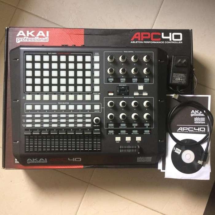 Controlador Akai Apc40