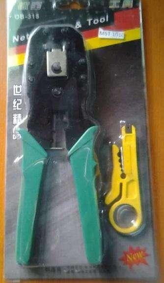 Ponchadora Rj45 Con Pela Cable