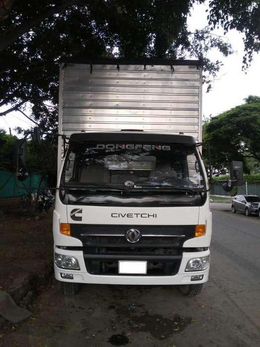 Se vende camión Dong Feng tipo furgón mod. 2015